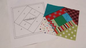Squared Up Paper Piecing Pattern by Whitney Sews