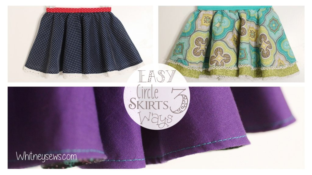 Circle Skirts Whitney Sews