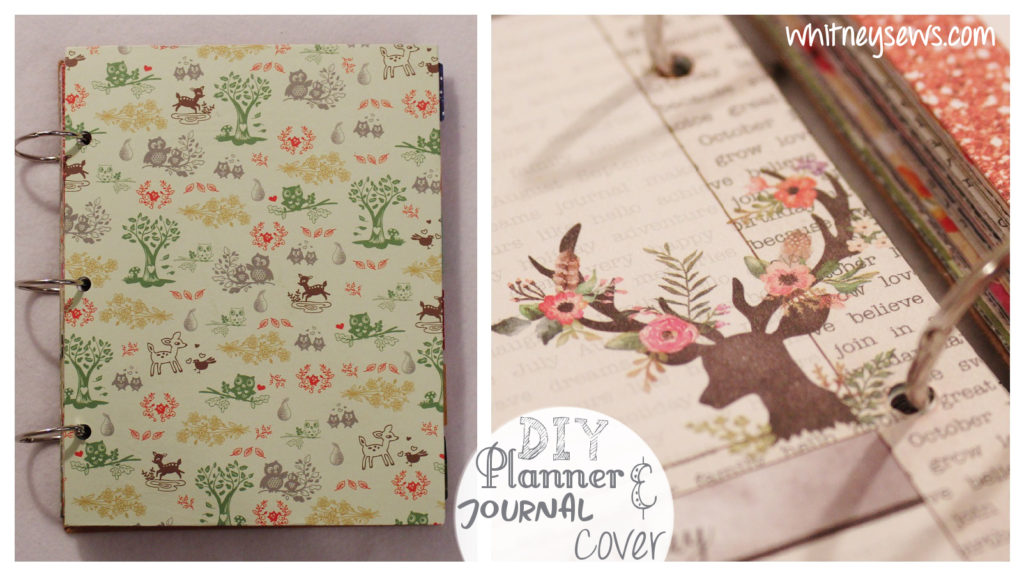 DIY Planner Cover Whitney Sews