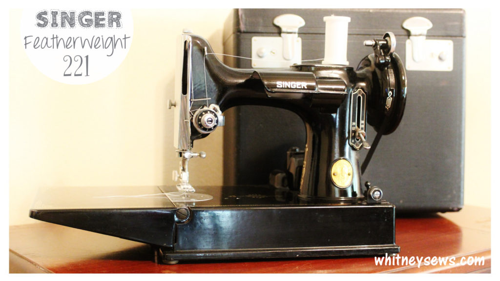 Singer Featherweight Sewing Machine Showcase by Whitney Sews