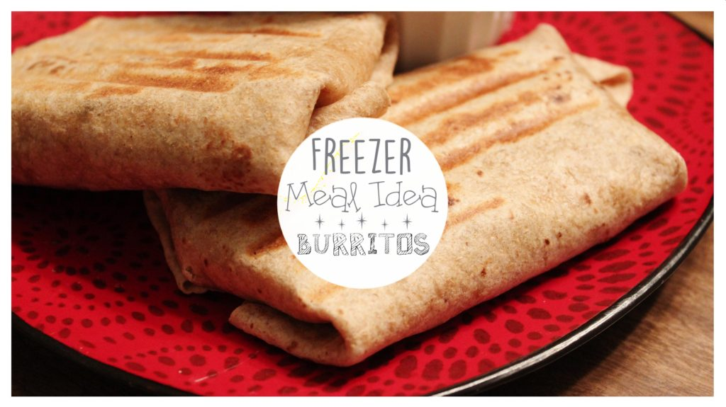 Easy and delicious burritos - GREAT FREEZER MEAL!