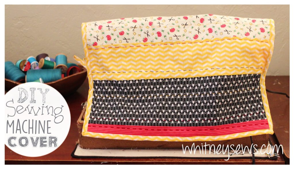 Quilted Sewing Machine Cover Full FREE How to from Whitney Sews