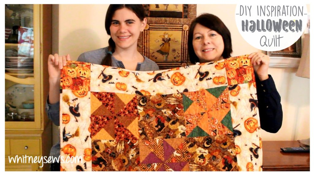 Halloween Quilt Inspiration from Whitney Sews
