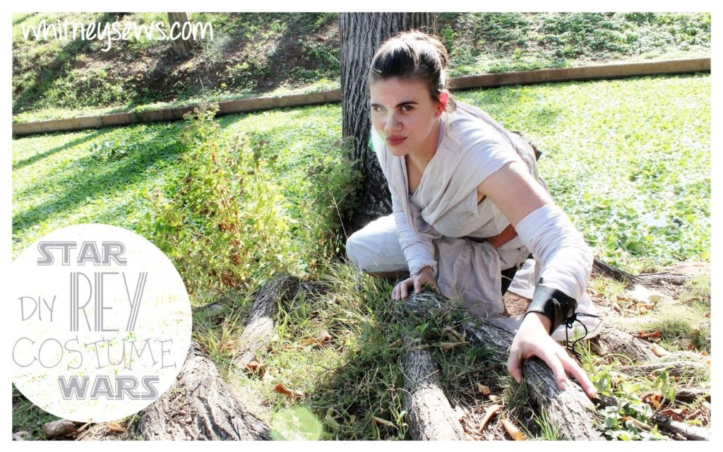 DIY Rey Star Wars The Force Awakens Costume from Whitney Sews