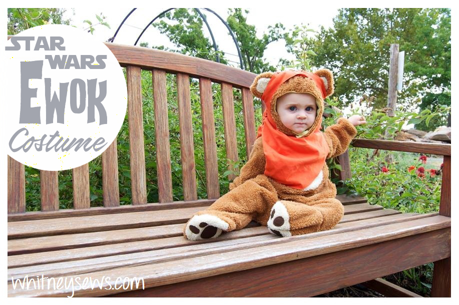 Wicket the Ewok Costume How to from Whitney Sews
