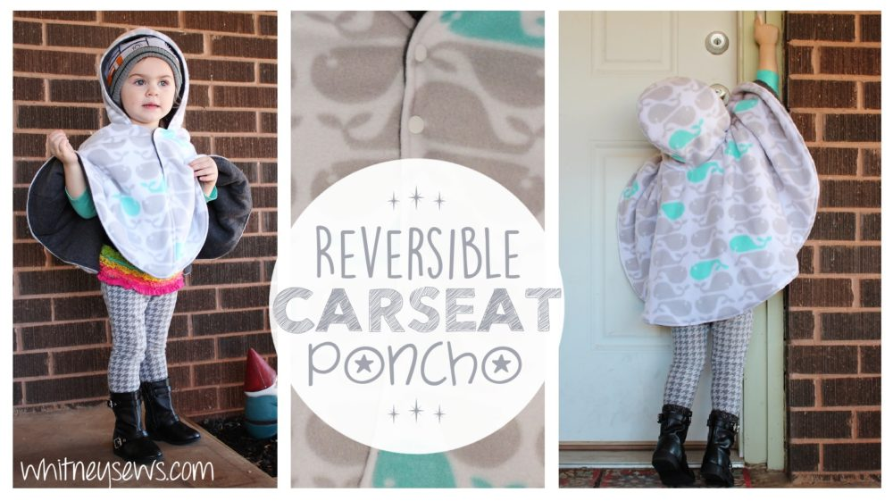 Carseat Poncho How to from Whitney Sews