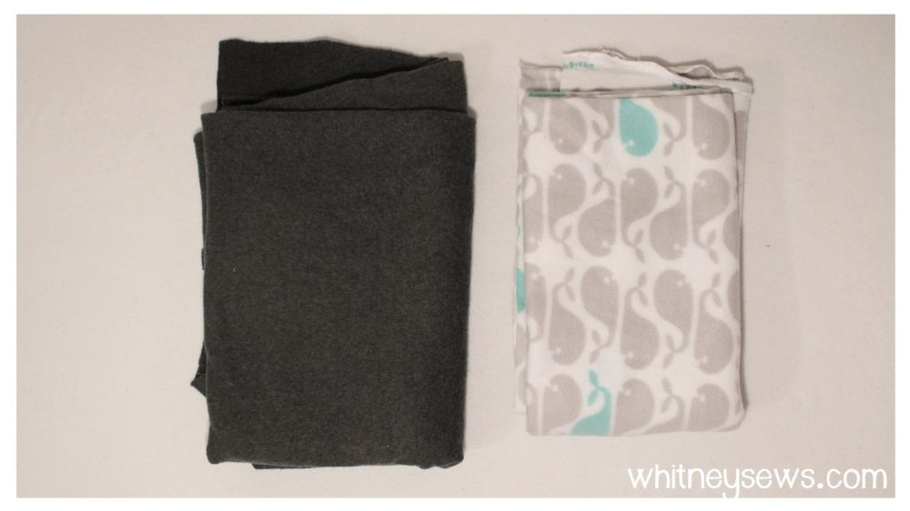 Car seat poncho supplies