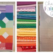 Charming Rainbows Quilt how to - designed by Whitney Sews