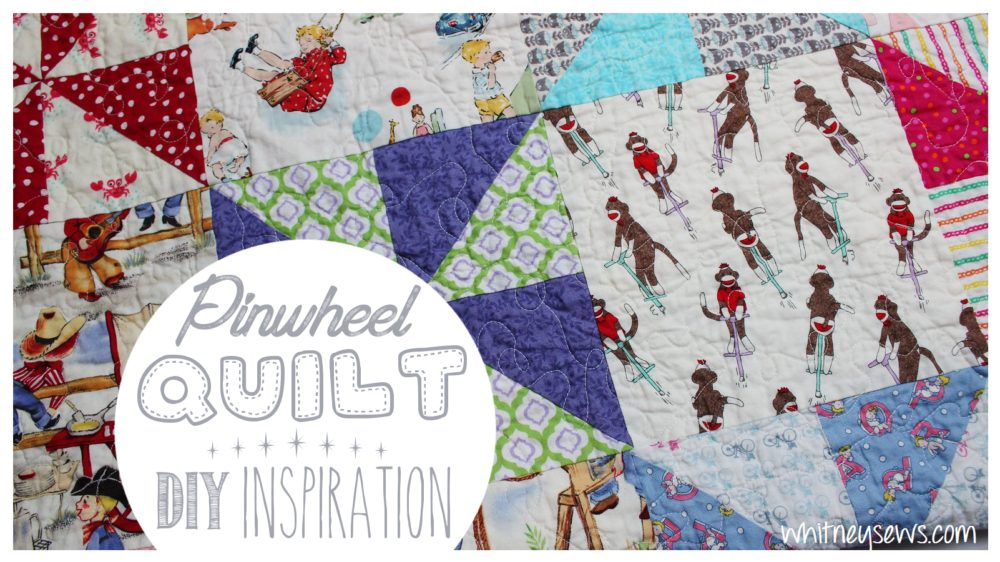Skyler\'s Baby Quilt - DIY Inspiration - Whitney Sews
