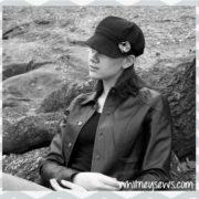 Newsboy Hat tutorial from Whitney Sews