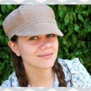 Newsboy Hat tutorial and free pattern from Whitney Sews