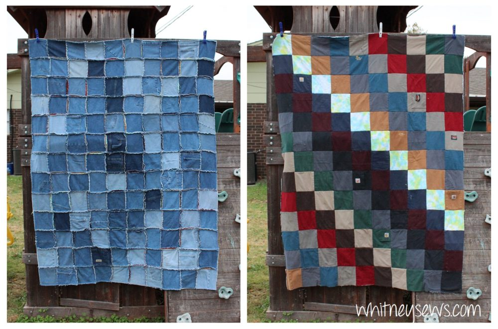 a keepsake quilt