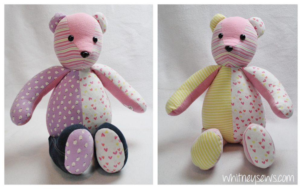 photo about Memory Bear Sewing Pattern Free Printable called How in the direction of Sew a Memory Endure - Whitney Sews