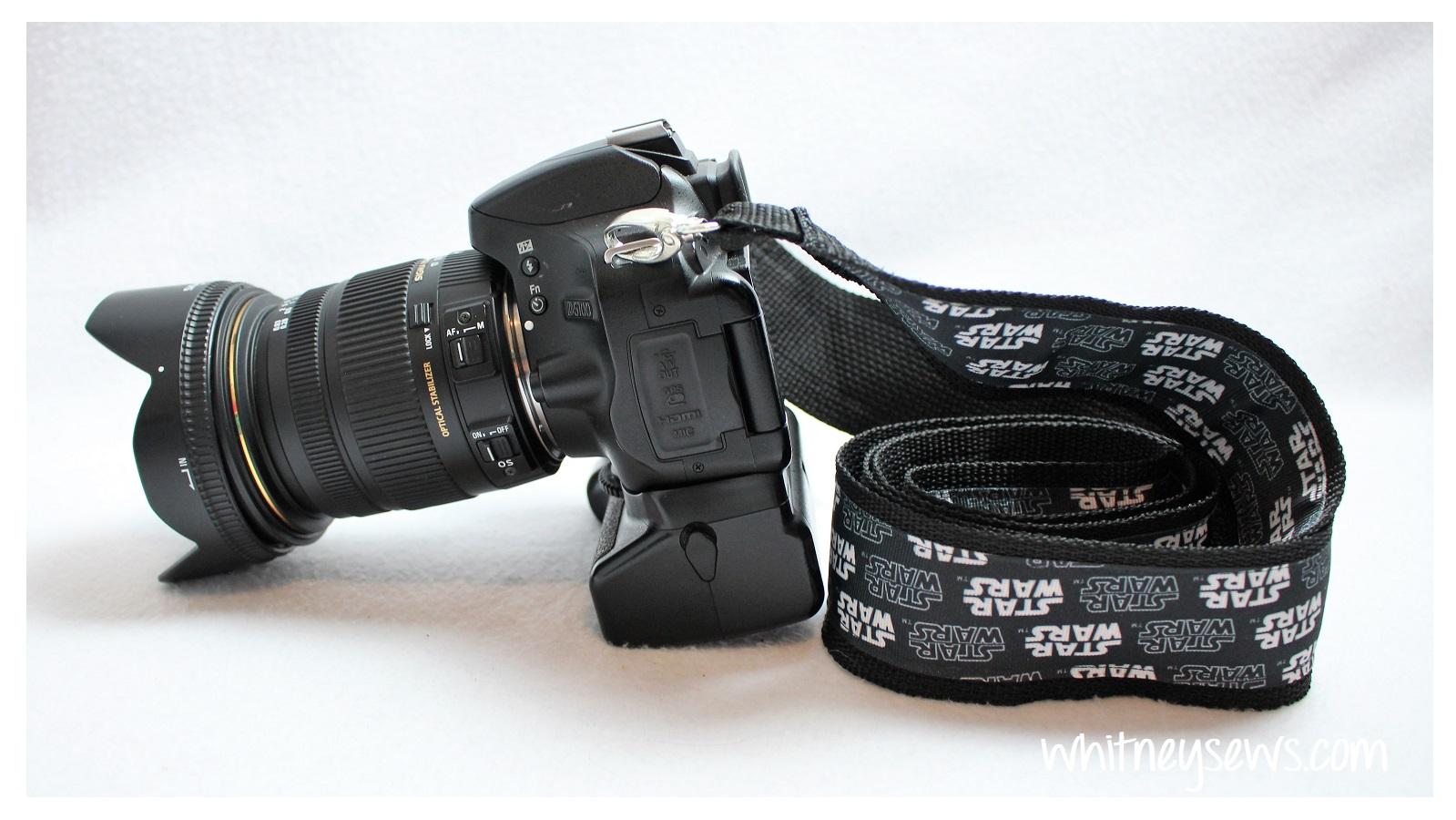 EASY DIY Camera Strap - Whitney Sews