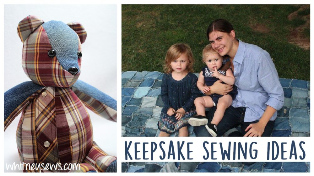 Tons of projects for keepsake sewing